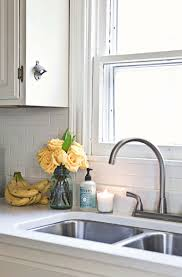 Pictures Of Kitchens With White Cabinets And Black Countertops Home Tour Elsie U0027s Kitchen U2013 A Beautiful Mess