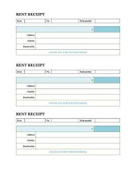 Excel Rental Template 10 Free Rent Receipt Templates