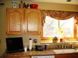 large kitchen window treatment ideas country cottage kitchen curtains http latulu info feed
