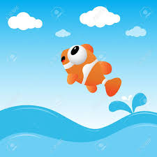 fish jumping out of the water royalty free cliparts vectors and