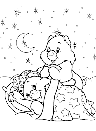 free coloring pages care bears free printable coloring pages