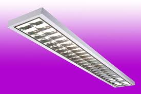 fluorescent light fittings 5ft 5ft 2 x 35w hf t5 surface mounted slim fitting c w emergency pack