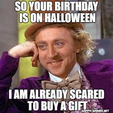 Funny Halloween Meme - halloween birthday memes funniest happy wishes
