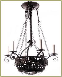 Wrought Iron Outdoor Chandelier Outdoor Candle Chandeliers Wrought Iron Home Design Ideas