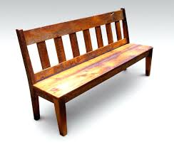 Rustic Bench Seat Bench With Back Benches Upholstered Bench With Backrest Bench