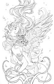 787 beautiful women coloring pages adults images