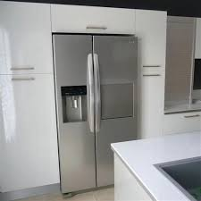installation de cuisine cuisine avec frigo americain integre 14 r233cap des