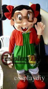El Chavo Halloween Costume Custom La Chilindrina Mascot Costumes El Chavo Del Ocho