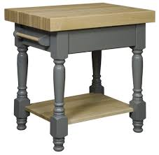 concord butcher block kitchen island from dutchcrafters