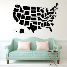 United States Map Wall Art by United States Map Print Usa Map Decor United States Wall Art