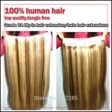 flip in hair mix color grade 7a double drawn hair human hair halo hair