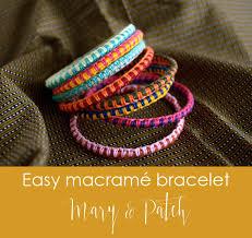 bracelet macrame images Macram bracelets tutorial mary patch jpg