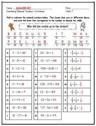 7th Grade Math Printable Worksheets 7th Grade Math Common Worksheet Bundle 5 Worksheets And