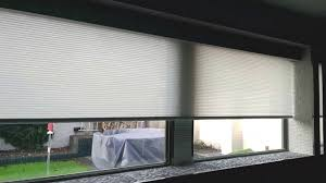 Battery Operated Window Blinds Qmotion Battery Powered Roller Blind 2 7m Wide Housed In Qmotions