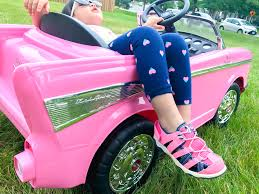 pink toddler car the best ride on car for toddlers from buybuy baby one awesome momma