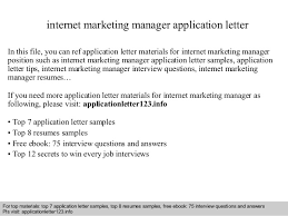 Marketing Manager Resume Sample Pdf by International Marketing Manager Application Letter