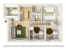 three bedroom apartment floor plans floor plans u0026 rates