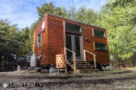 the little leaf tiny house 220 sq ft tiny house town