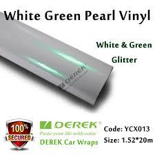 gold glitter car satin pearl white car wrapping vinyl film white u0026 pink glitter