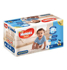 huggies gold huggies 1 x 120 s gold disposable nappies mega pack boy size 4