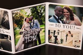 wedding thank you cards with photo cloveranddot com