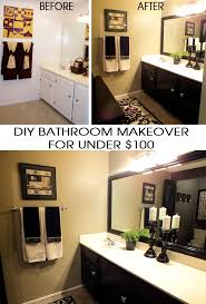 Diy Bathroom Makeover Ideas - diy bathroom makeover two sisters crafting