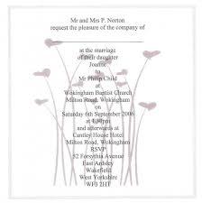 invitations traditional wedding invitation samples wording ideas