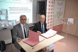 chambre des metiers paca signature de la convention partenariale entre accm et la chambre des