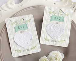 seed paper favors rustic hearts personalized heart seed paperÿcards set of 12