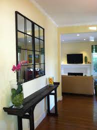 awesome window pane mirrors homesfeed window pane mirror in living room near long wooden table