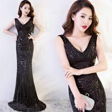 online get cheap bridesmaid dresses floor length black aliexpress