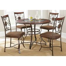 Cherry Dining Room Tables Steve Silver Td450 Toledo Dining Table In Cherry Homeclick Com