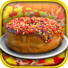 thanksgiving donut maker baker cook make android apps