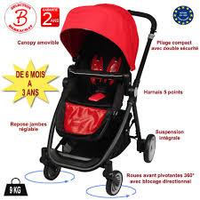 poussette siege auto bebe poussette bébé 4 roues combiné 3 en 1 poussette siège auto cosy
