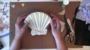 how to make a 3d sea shell easel card with g45 by the sea paper