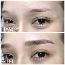 Semi Permanent Tattoo Eyebrows Microblading The Art Of Beautiful Eyebrows Yeewong