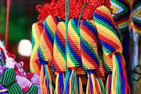 manycolored traditional tibetan braided thread ornaments shop
