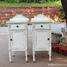 Wood You Furniture Painted Antique Nightstands You Order We Find Restore Adorn