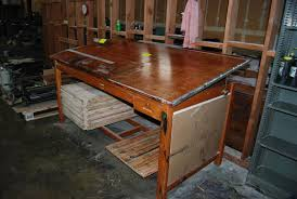 Wooden Drafting Table West Auctions Auction Equipment Inventory Reduction Auction In