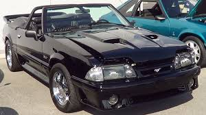 Black Fox Body Mustang 1993 Mustang Gt Youtube