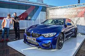 kereta bmw x6 2017 motogp bmw m award marc marquez wins bmw m4 cs