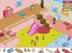 GIRLY DOLL HOUSE DECORATION DECORATION GAMES