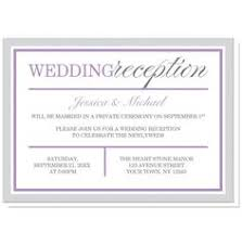 wedding reception only invitation wording for ceremonies the reception only invite wedding