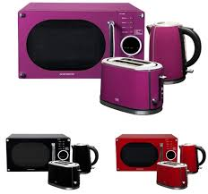 Russell Hobbs Purple Toaster Purple Kettle Toaster Microwave Set U2013 Glass Dishes For Meat U0026 Dairy