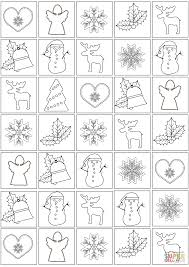 christmas pattern coloring page free printable coloring pages