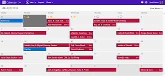 outlook 2013 design take of your schedule with a modern calendar experience