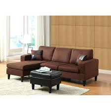 Chocolate Sectional Sofa Sectional Chocolate Sectional With Ottoman 3 Pcs Robyn Sectional