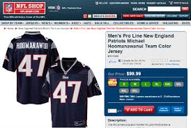 the nfl pro shop can u0027t fit michael hoomanawanui u0027s name on his jersey