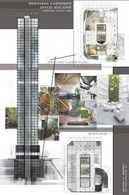 architectural layouts building corporate offices and office buildings on design
