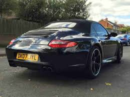 black porsche convertible porsche 911 carrera 4s 3 8 997 techart convertible black brand new 20